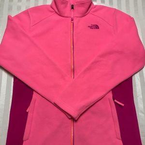 Girls North Face Fleece Full ZIP Jacket